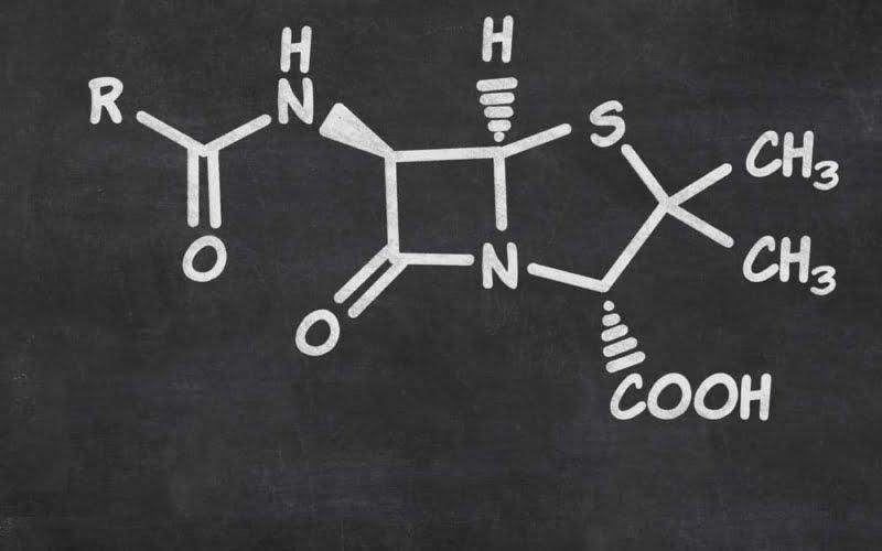 Formel von Penicillin