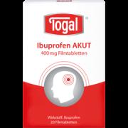 TOGAL Ibuprofen AKUT 400mg / 20 Stk.