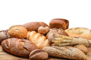Bild zeigt unterschiedliche Brotsorten