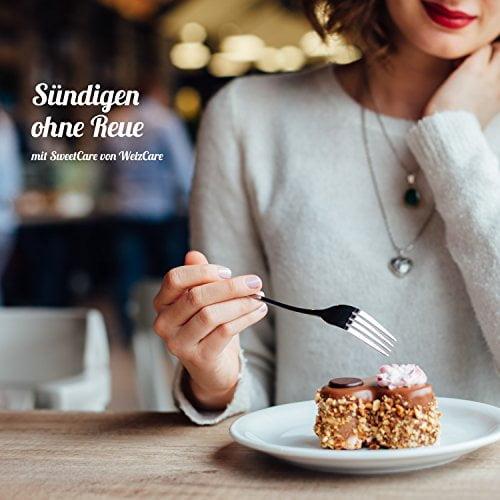 SweetCare Kristall-Zucker ist der natürlicher Zuckerersatz mit Erythrit und Stevia im 1 Kg Beutel - 6