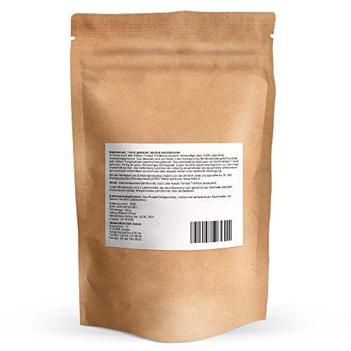 Bambussalz fein gemahlen - 100 g - gebranntes Meersalz (Speisesalz) - 100% reines Naturprodukt - Original koreanischer Bambussalz - pH-Wert von 10 - natürlicher Herstellungsprozess - 2